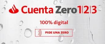 cuenta zero 1,2,3 online sin comisiones