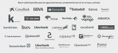 bancos que aceptan pagar con bizum sin comisiones