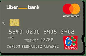 tarjeta euro 6000 liberbank