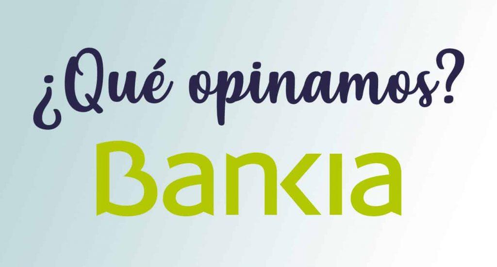 cuenta online bankia