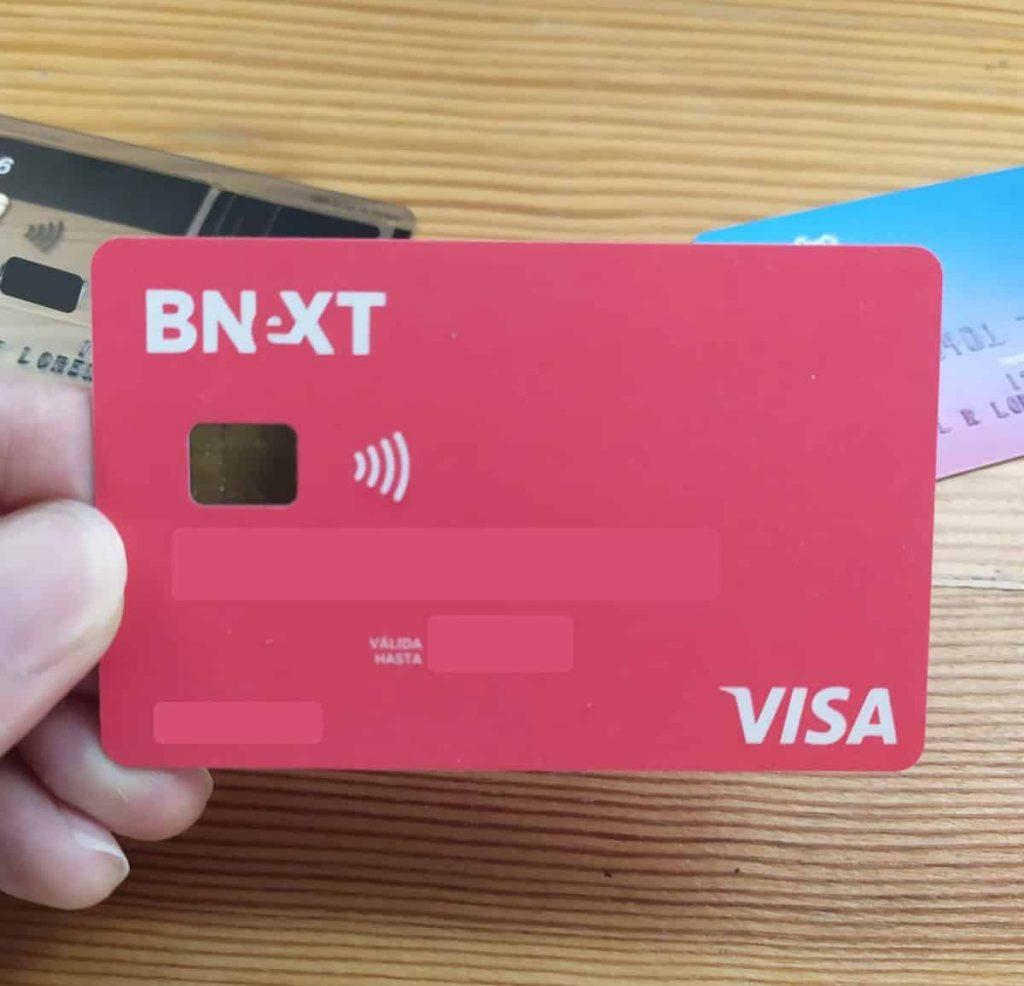 tarjeta bnext sin comisiones