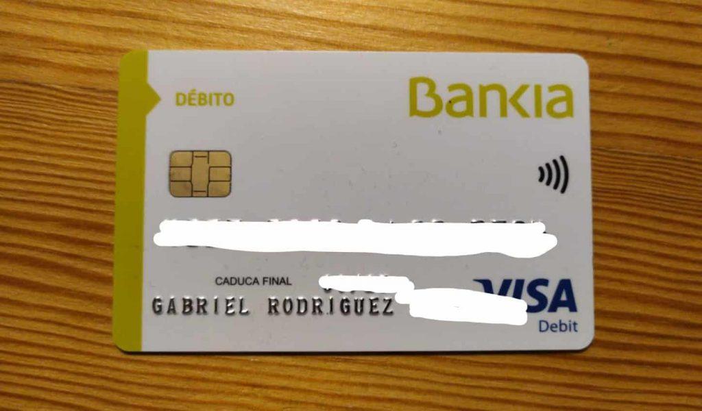 bankia sin comisiones tarjeta debito