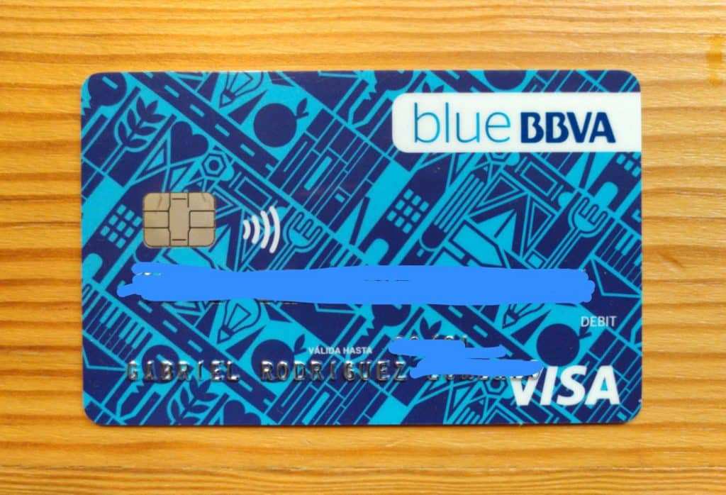tarjeta online cuenta bbva