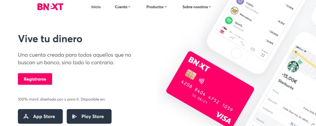 Cómo conseguir una tarjeta gratuita de BNext