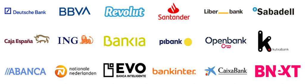 Compara las Mejores Cuentas, Bancos y Tarjetas Sin Comisiones