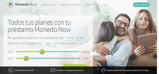 Monedo Now ofrece microcréditos fácil y rápido.