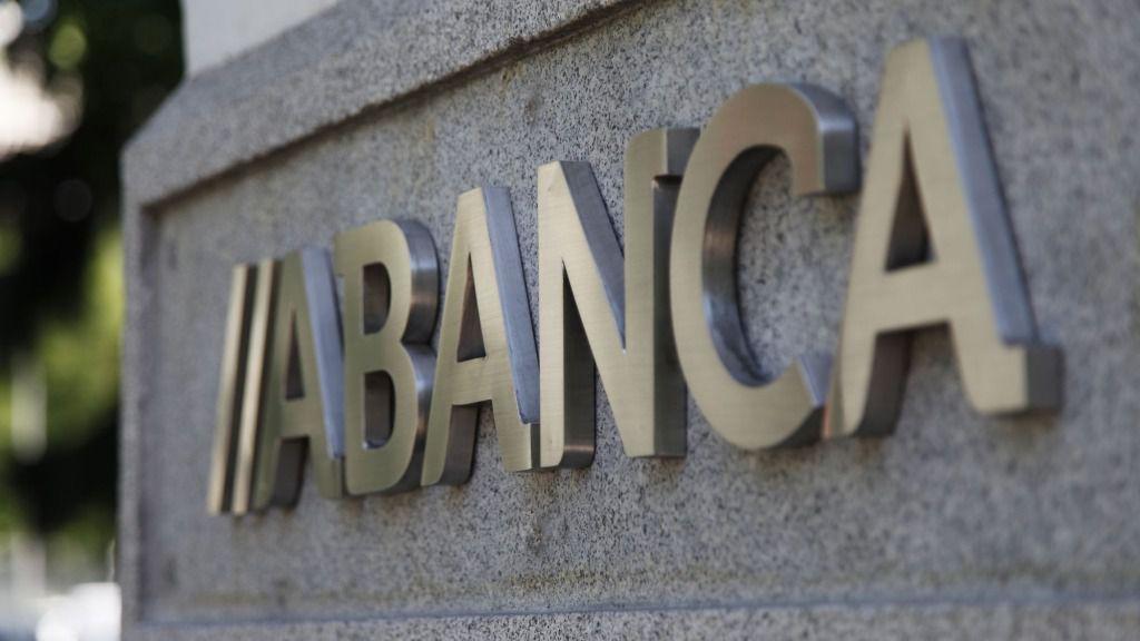 Logo institucional de Abanca