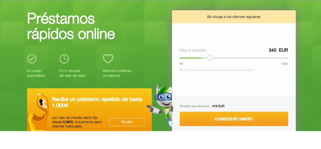 Microcréditos aprobados en minutos y de manera online.