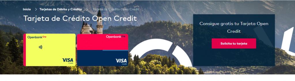 Hay varios tipos de tarjetas revolving Openbank que pueden ser reclamadas.
