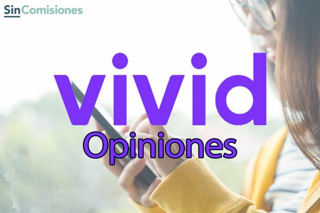 Opiniones VIVID MONEY: Una cuenta con Cashback ¿Es tan buena como la pintan?
