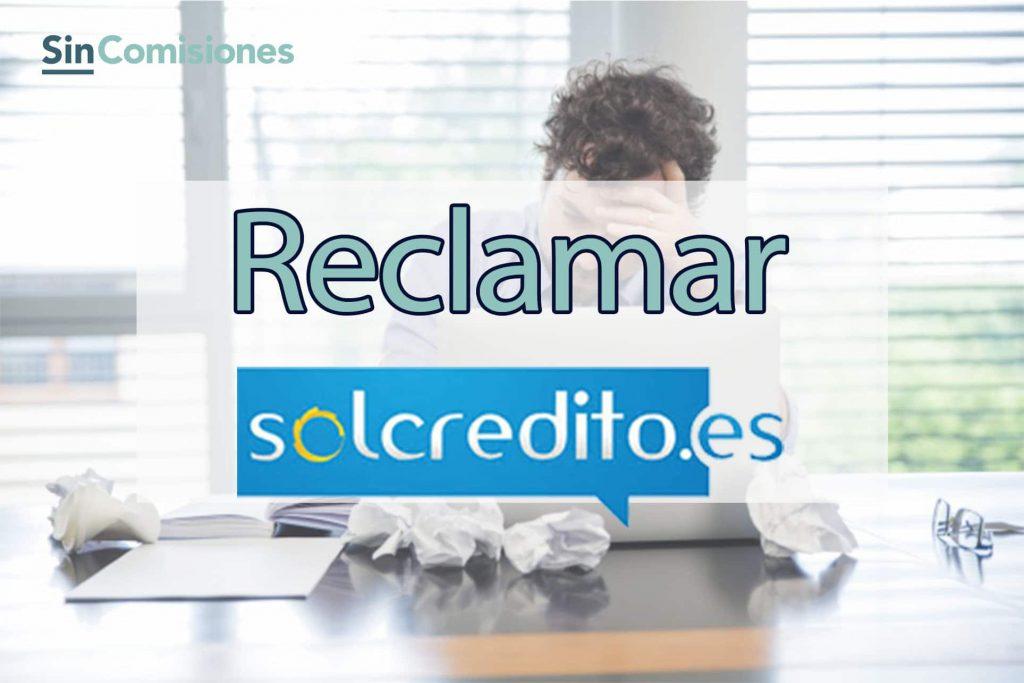 denunciar un microcrédito de solcrédito