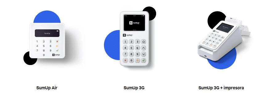 modelos datafonos sumup