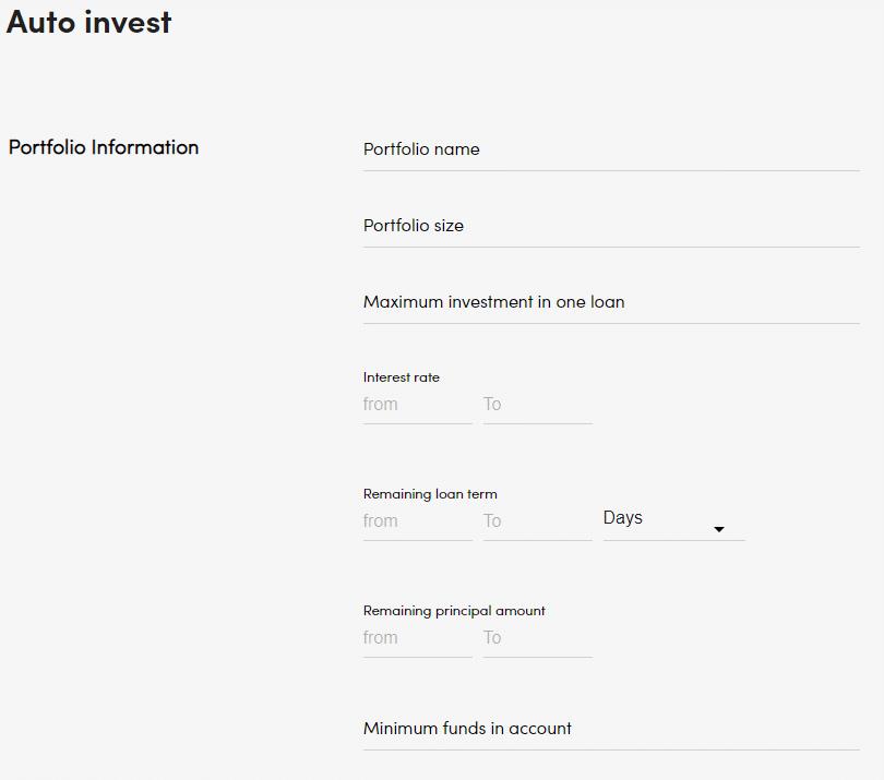 estrategia de inversión peerberry