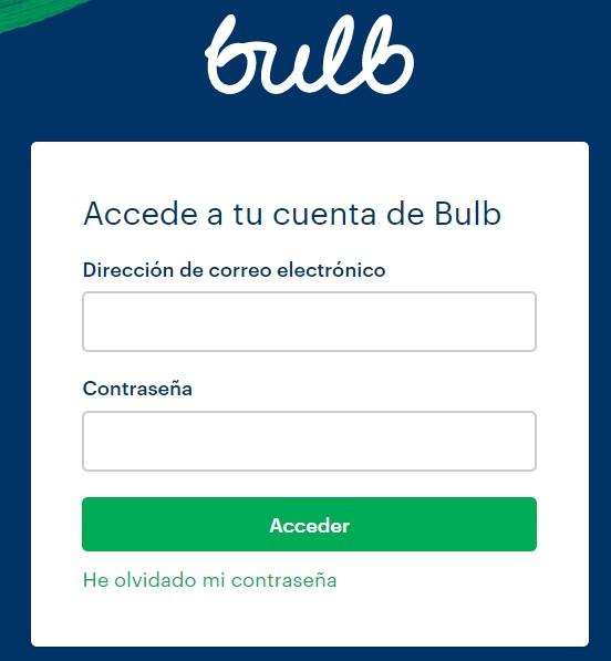 Área de clientes Bulb