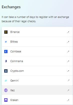 Exchanges para Ethereum