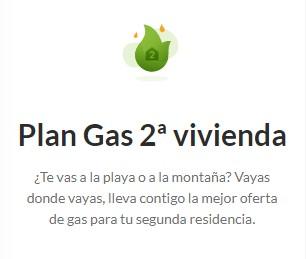 Plan Gas Segunda Vivienda de Iberdrola