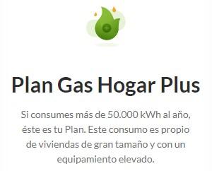 Plan Gas Hogar Plus de Iberdrola
