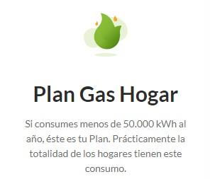 Plan Gas Hogar de Iberdrola