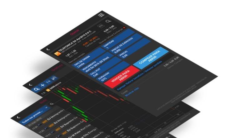 Plataforma móvil de ClickTrade