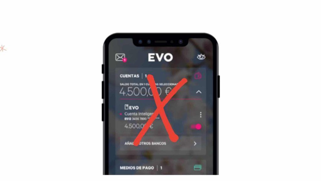 Cerrar cuenta de Evo Banco