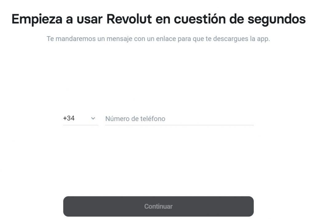 Alta en Revolut