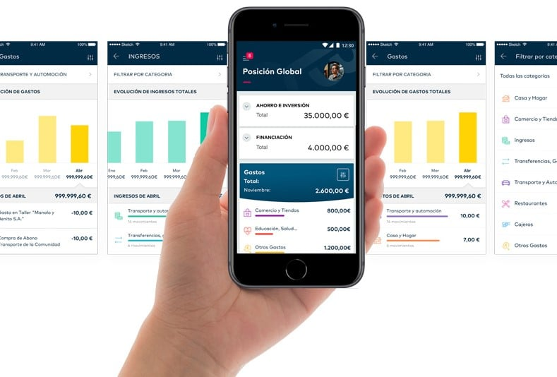 App móvil de Openbank