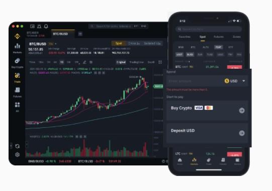 Plataformas de Binance, uno de los mejores exchanges crypto