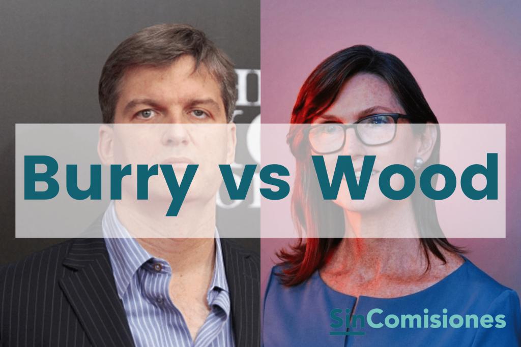 Wood vs Burry: Tensión en Wall Street, ¿Qué está pasando con ARK?