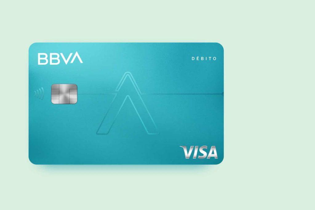 Tarjeta AQUA débito sin comisiones de BBVA
