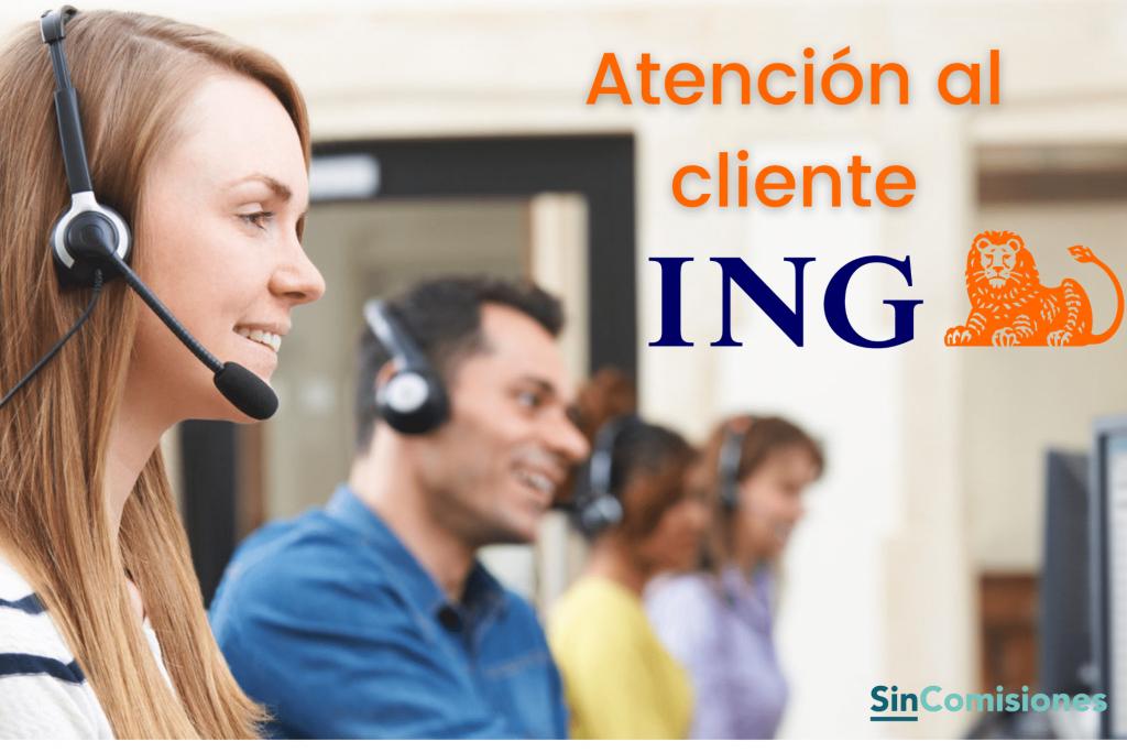 Atención al cliente ING