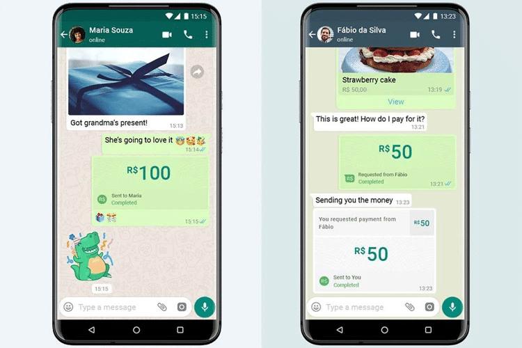 Primeras imágenes de WhatsApp Pay
