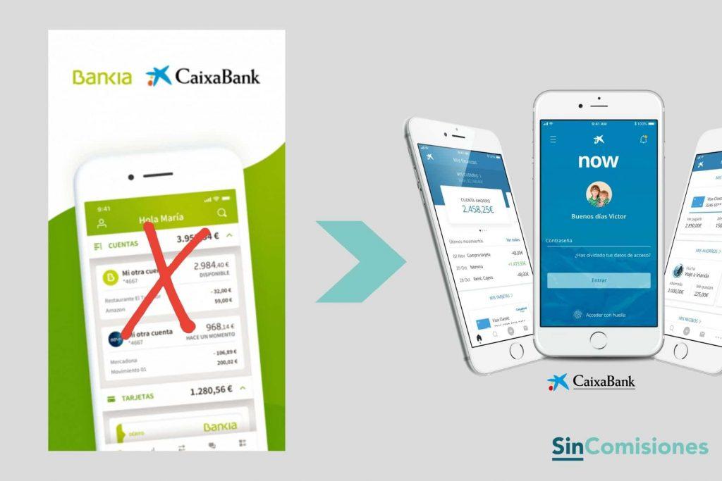 App Bankia desaparece