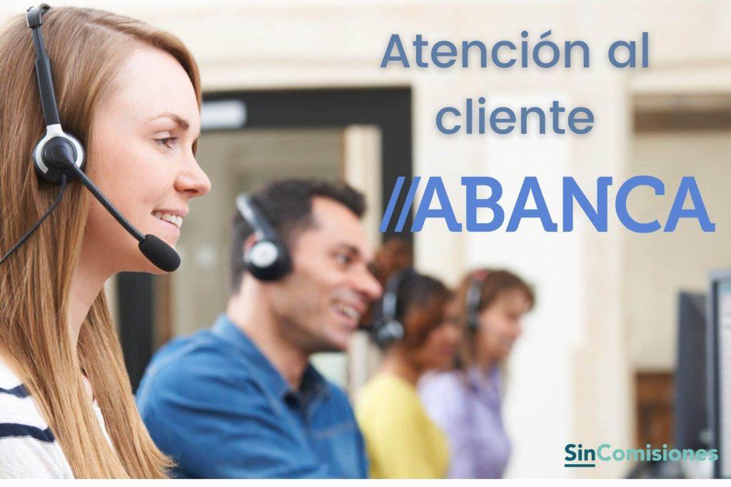 Atención al cliente de Abanca
