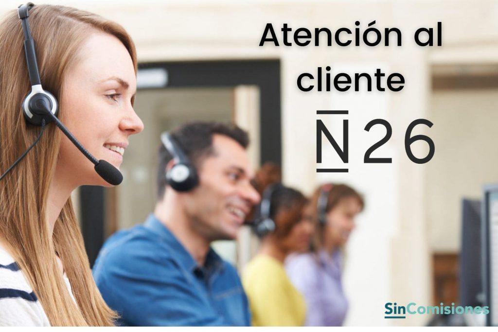 Atención al cliente N26