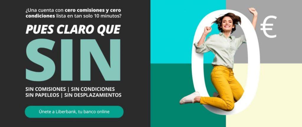 Beneficios de la Cuenta Online Sin de Liberbank, una de las mejores cuentas nómina sin comisiones