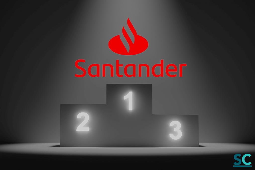 La mejor cuenta sin comisiones de esta comparativa Caixabank vs Santander, es la Cuenta One del banco Santander
