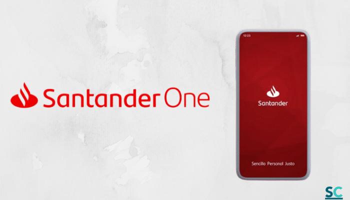 App de banca en línea de Santander One