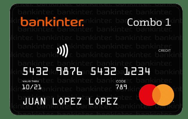 Tarjeta Combo de Bankinter